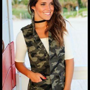 Woman's Camouflage Vest